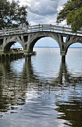 Currituck Art - Arched Bridge III by Steven Ainsworth