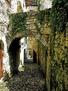 Stone Path Photos - Arched Passageway by Douglas J Fisher