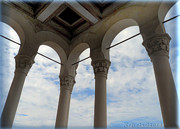 Fantasy Pyrography - Arched sky - photograph by Giada Rossi by Giada Rossi