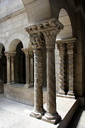 Arches And Columns - Cloister Nyc Print by Christiane Schulze
