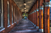 Ybor City Photos - Arches and Columns by Marvin Spates