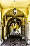 Archways Acrylic Prints - Arches and Lanterns Acrylic Print by Thomas R Fletcher