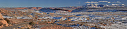 Adam Jewell - Arches La Sal Panorama