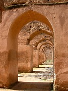 Terra Cotta Framed Prints - Arches Framed Print by Sophie Vigneault