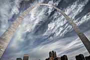 St Louis Prints - Arching Over St. Louis Print by Gregory Ballos