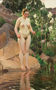 Anders Zorn - Archipelago Flower 1916