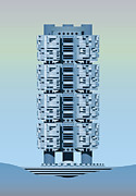 Tower Digital Art - Archisystems by Peter Cassidy