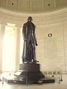 Thomas Jefferson Prints - Architect of Freedom Print by J Allen