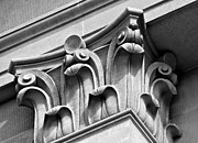 Corinthian Prints - Architectural Elements Print by Karon Melillo DeVega