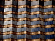 Cities Glass Art Metal Prints - Architecture 2 Metal Print by Tom Druin