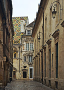 Dijon Prints - Architecture in Dijon France Print by Carla Parris