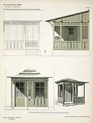 Architecture In Wood, C.1900 Print by Richard Dorschfeldt