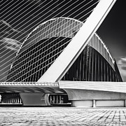 Centre Photo Framed Prints - Architecture Valencia Vl Framed Print by Erik Brede