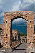 Naples Italy Framed Prints - Archway Framed Print by Marion Galt