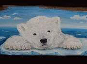 Sad Paintings - Arctic Cry by Viktoria K Majestic