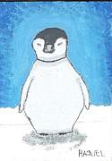 Arctic Penguin Print by Raquel