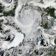 Science Source - Arctic Summer Storm 2012