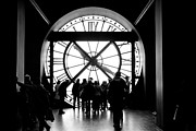 Museum Orsay Clock Posters - Are We In Time... Poster by Donato Iannuzzi