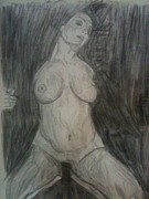 Richard Drawings - Aria Giovanni Art by Richard Ian Cohen