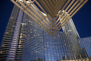 Vdara Prints - Aria Resort and Casino Print by Jim West