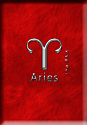 Constellation Digital Art - Aries March 21 to April 20 by Fran Riley