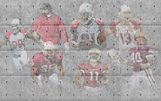 Offense Framed Prints - Arizona Cardinals Legends Framed Print by Joe Hamilton