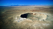 Meteor Art - Arizona Meteor Crater by Pg Reproductions