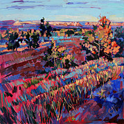 Red Rock Canyon Paintings - Arizona Summer by Erin Hanson