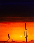 Ray Huffman - Arizona Sunset