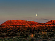 Luna Prints - Arizona Supermoon 002 Print by Lance Vaughn