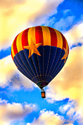 Wicker Basket Prints - Arizonia Hot Air Balloon Special Print by Robert Bales