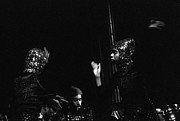 Sun Ra Arkestra Photos - Arkestra Dancers by Lee  Santa