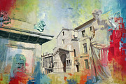 Great Paintings - Arles Roman and Romanesque Monuments by Catf