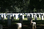 Grave Photo Posters - Arlington National Cemetery - 12121 Poster by DC Photographer