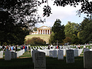 Arlington Virginia Digital Art Prints - Arlington National Cemetery Print by Bill Cannon
