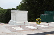 Tombstone Photos - Arlington National Cemetery - Tomb of the Unknown Soldier - 01131 by DC Photographer
