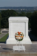 Stone Prints - Arlington National Cemetery - Tomb of the Unknown Soldier - 12121 Print by DC Photographer