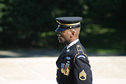 Arlington National Cemetery - Tomb Of The Unknown Soldier - 121211 Print by DC Photographer