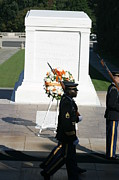 Soldier Photos - Arlington National Cemetery - Tomb of the Unknown Soldier - 121213 by DC Photographer
