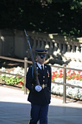 Brave Prints - Arlington National Cemetery - Tomb of the Unknown Soldier - 121215 Print by DC Photographer