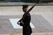 Soldiers Prints - Arlington National Cemetery - Tomb of the Unknown Soldier - 121225 Print by DC Photographer