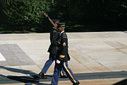 Soldiers Prints - Arlington National Cemetery - Tomb of the Unknown Soldier - 12127 Print by DC Photographer