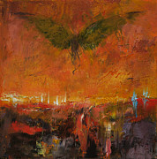 Angel Art Paintings - Armageddon by Michael Creese