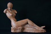 Fired Sculptures - Armless- profil - study by Flow Fitzgerald