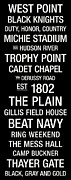 Navy Posters - Army College Town Wall Art Poster by Replay Photos