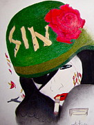 Sin Drawings - Army Sin by Autumn Wagner