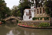 San Antonio River Walk Framed Prints - Arneson River Theatre Framed Print by Paul Anderson