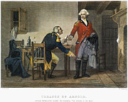 Arnold And Andre, 1780 Print by Granger