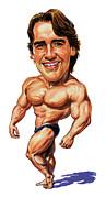 Arnold Schwarzenegger Print by Art