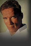 Arnold Framed Prints - Arnold Schwarzenegger  Framed Print by Movie Poster Prints